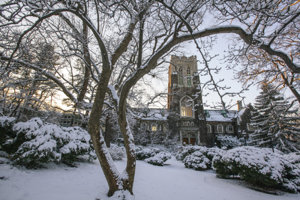 Lehigh in snow