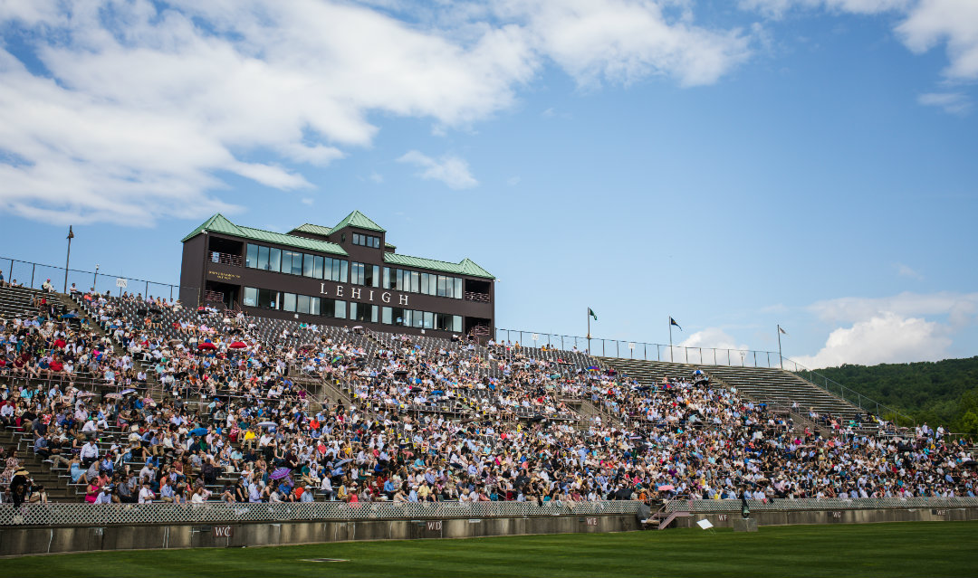 Crowd at Lehigh University commencement