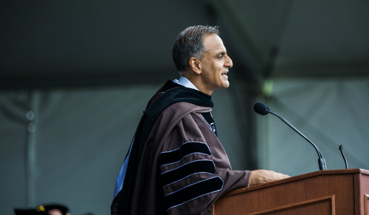 Richard Verma addresses Lehigh University's Class of 2019