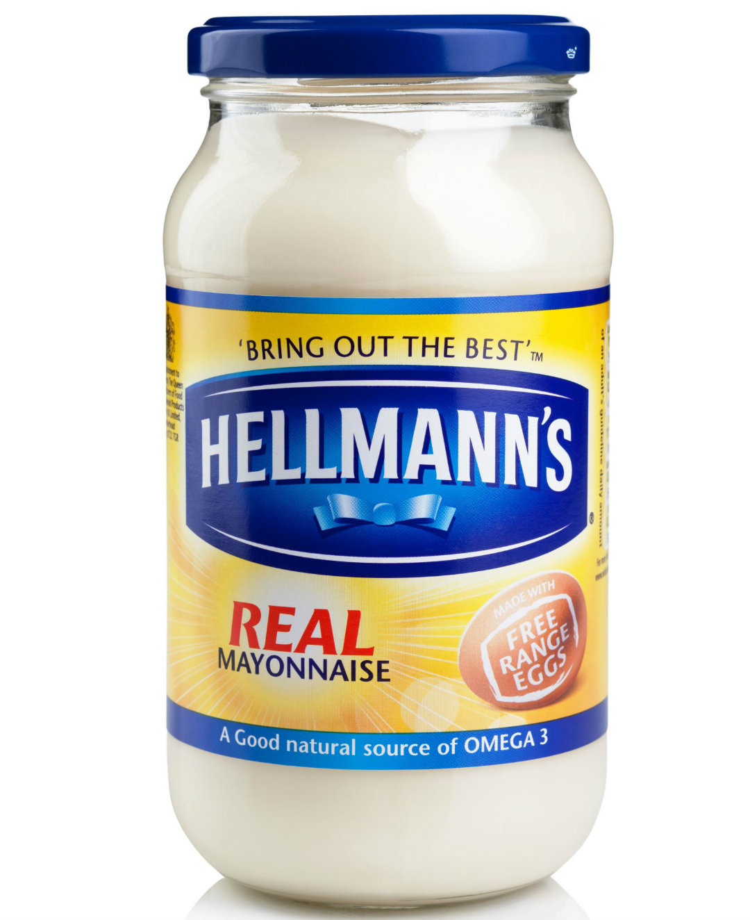 Jar of Hellmann's Real Mayonnaise