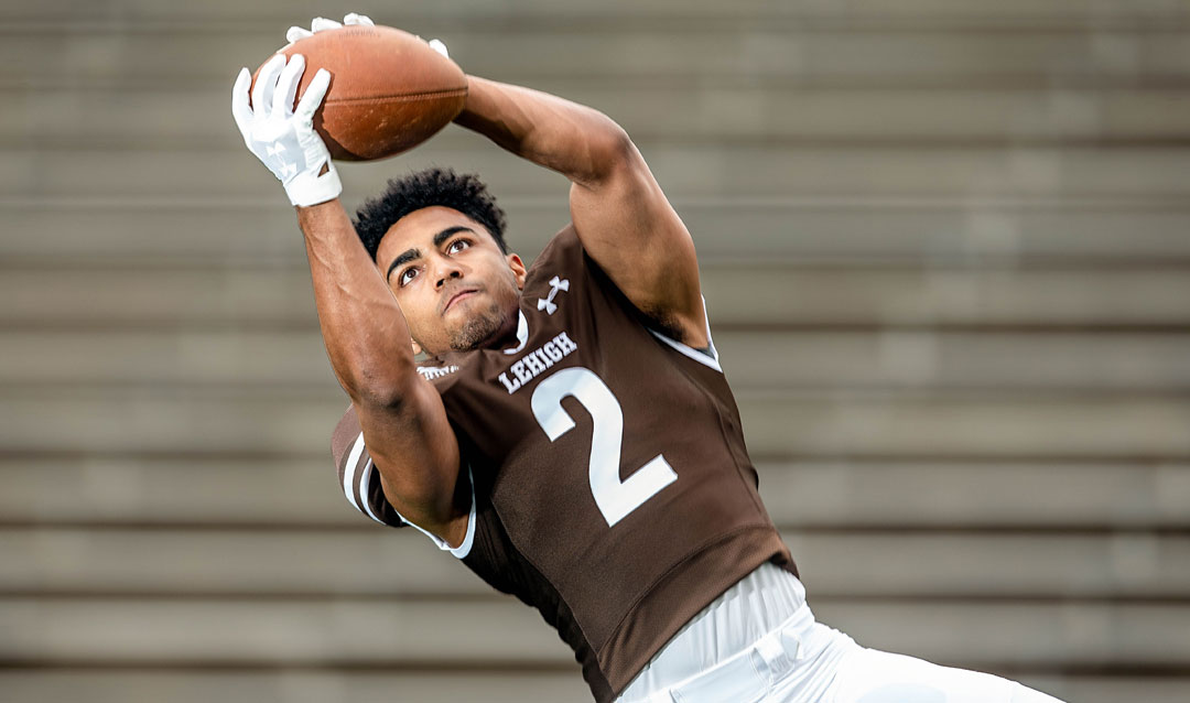 Lehigh wide receiver Jorge Portorreal