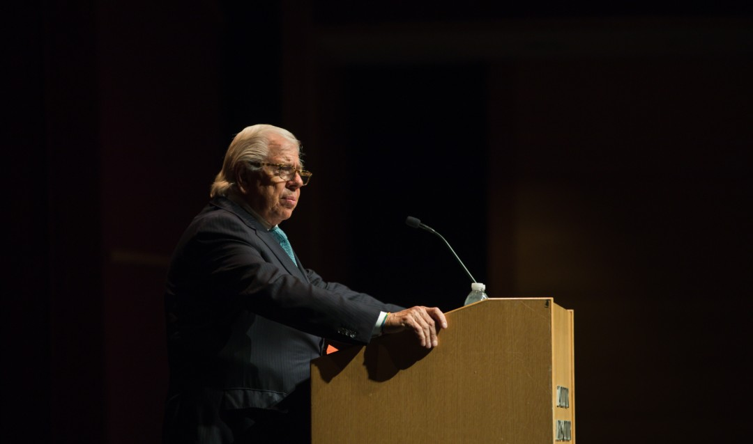 Carl Bernstein speaks at Lehigh University