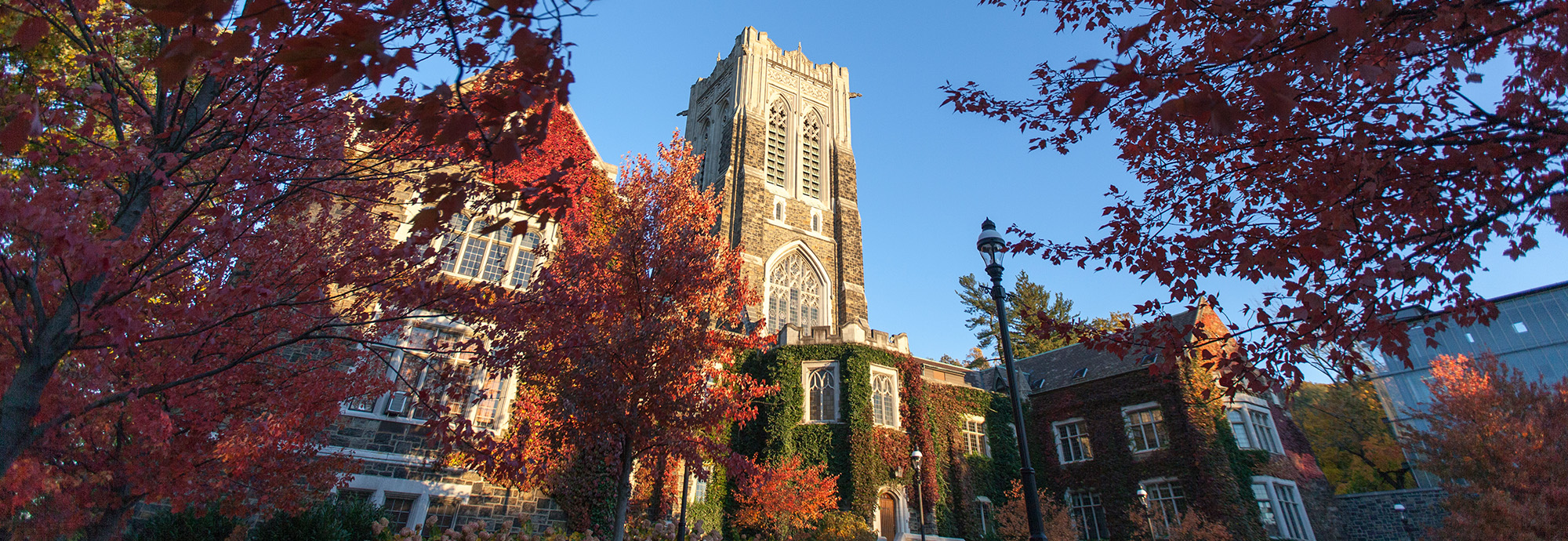 Lehigh building in Fall