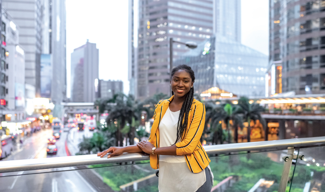 Nikki Groce '21in Hong Kong