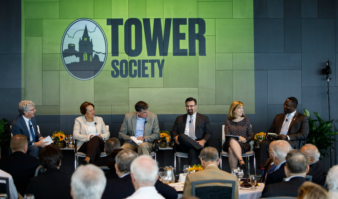 Tower Society panel discussion