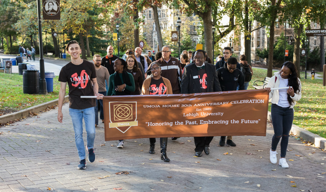 Umoja House honor walk