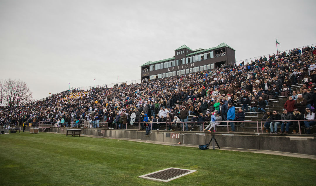 Lehigh fans packed the home stands at Goodman Stadium.