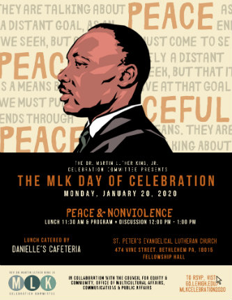 Poster for The MLK Day of Celebration