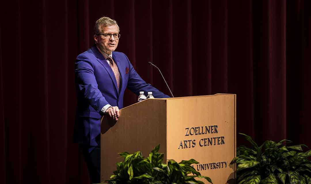 Charlie Dent presents Kenner Lecture at Lehigh University