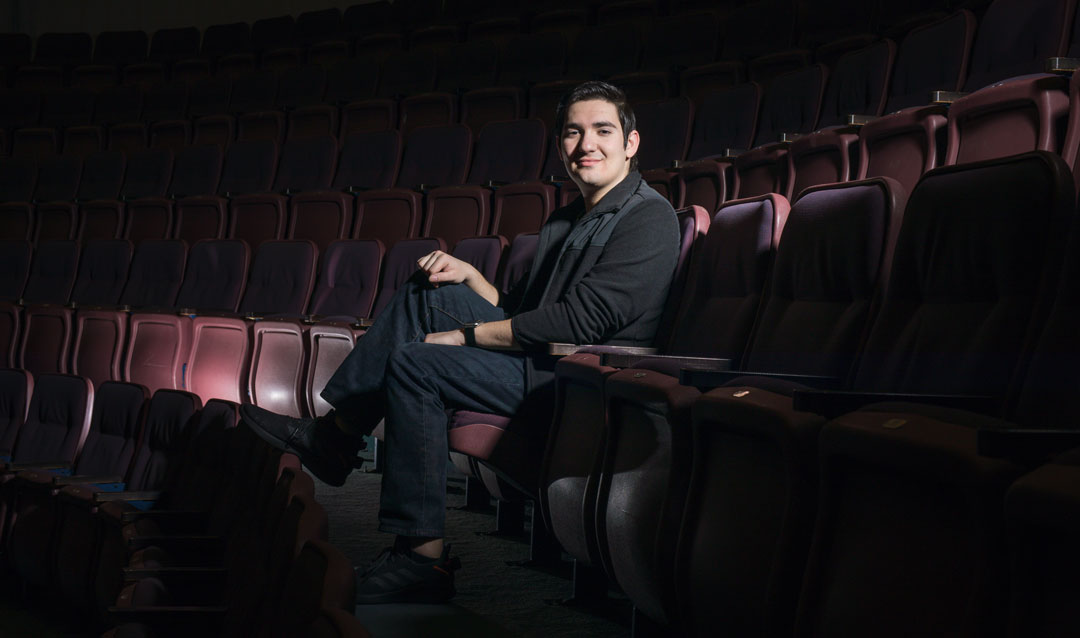 Travis Martinez Wins National Scenic Design Award