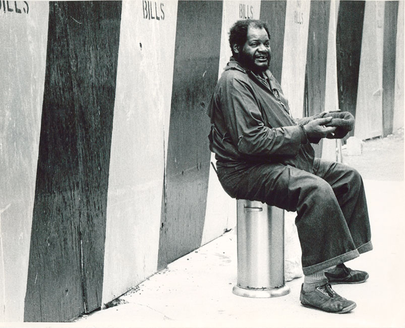 Photo of a beggar byErika Stone