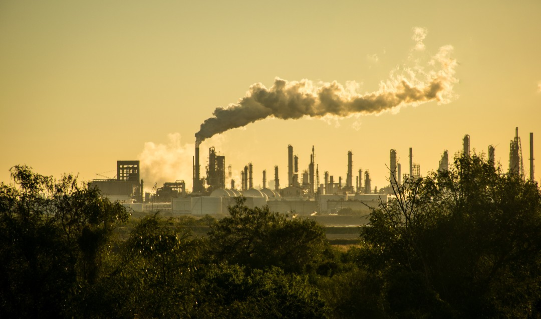 Oil Refinery along Texas Gulf Coast