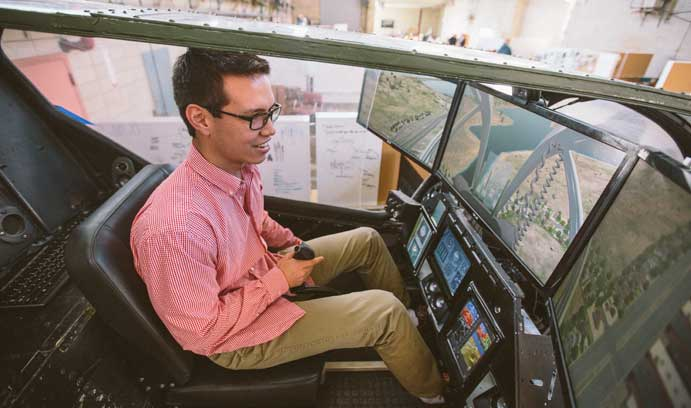 Learning to fly | News Article | Lehigh University
