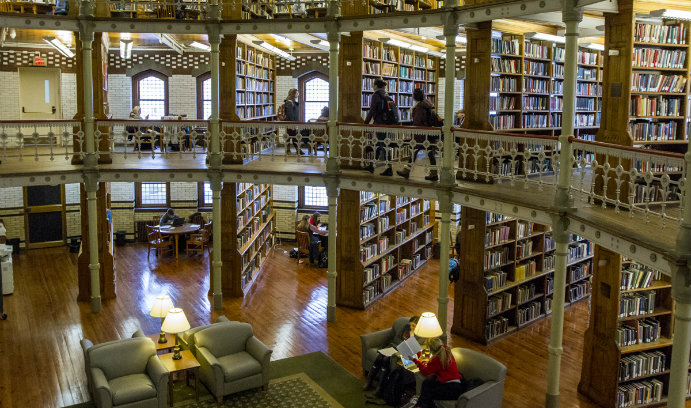 Linderman Named A Most Amazing Library News Article Lehigh